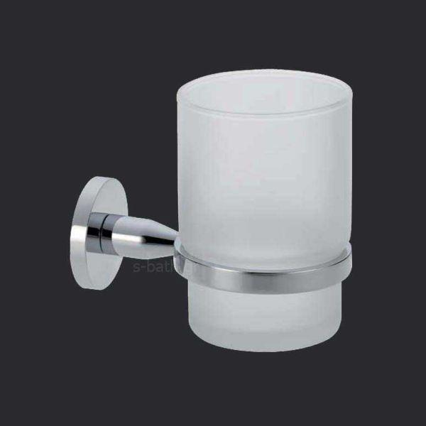 Αξεσουάρ μπάνιου OMICRON - Ποτηροθήκη μπάνιου τοίχου
