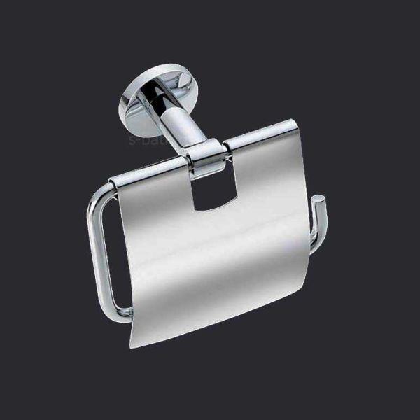 Αξεσουάρ μπάνιου OMICRON - Χαρτοθήκη μπάνιου κλειστή