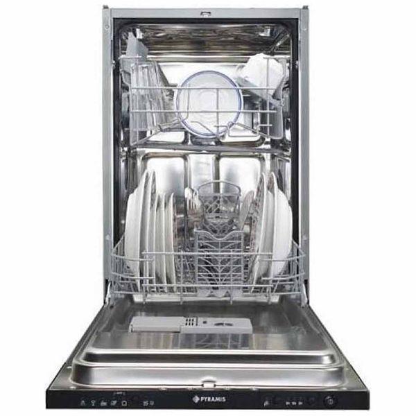 PYRAMIS DWF 45FI ΜΑΥΡΟ- Πλυντήριο πιάτων εντοιχιζόμενο
