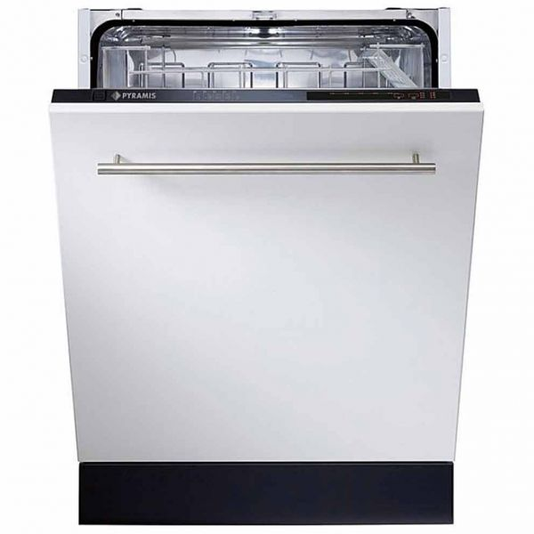 PYRAMIS DWE 60FI ΜΑΥΡΟ - Πλυντήριο πιάτων εντοιχιζόμενο