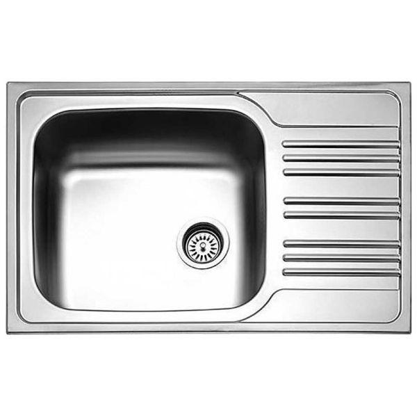 PYRAMIS MAIDSINKS INSET 78x50 1B 1D - Νεροχύτης κουζίνας