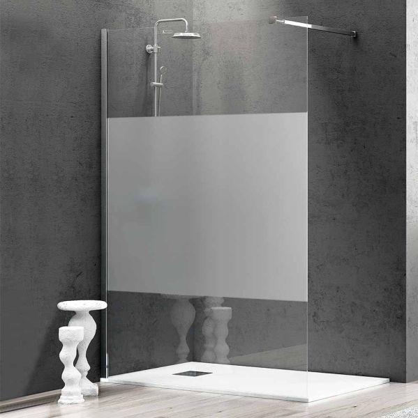 Διαχωριστικό κρύσταλλο μπάνιου RELEASE-70 σεριγραφία