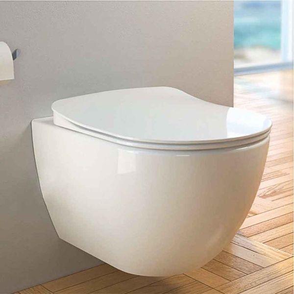 Λεκάνη μπάνιου CREAVIT RIM-OFF SOFT-CLOSE κρεμαστή