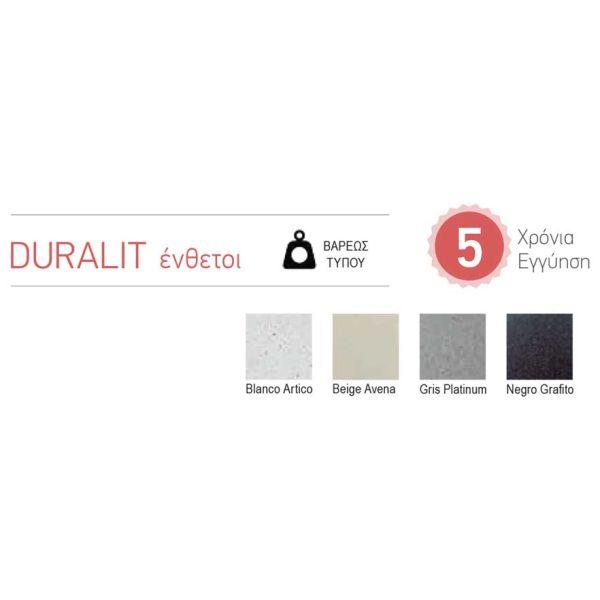 DURALIT KS 105 - Νεροχύτης κουζίνας συνθετικός   -χρωματολόγιο