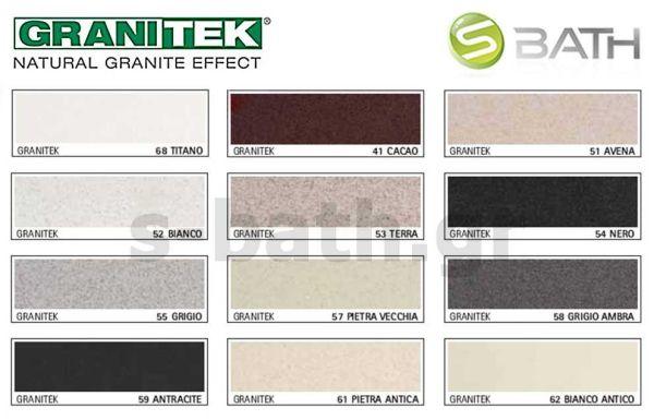 ELLECI EASY 310 - Νεροχύτης κουζίνας γρανίτης - χρώματα Granitek