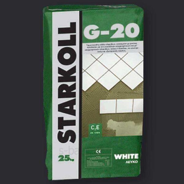 STARKOLL G-20 πολύ-ακρυλική - Κόλλα πλακιδίων