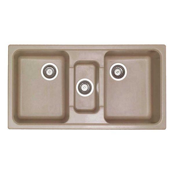 SANITEC CLASSIC 325 - Νεροχύτης κουζίνας συνθετικός