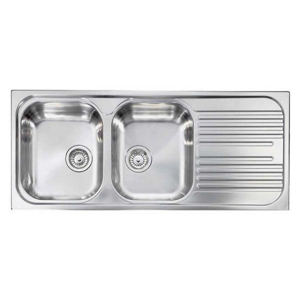 ATLANTIC 10647 - Νεροχύτης ανοξείδωτος κουζίνας