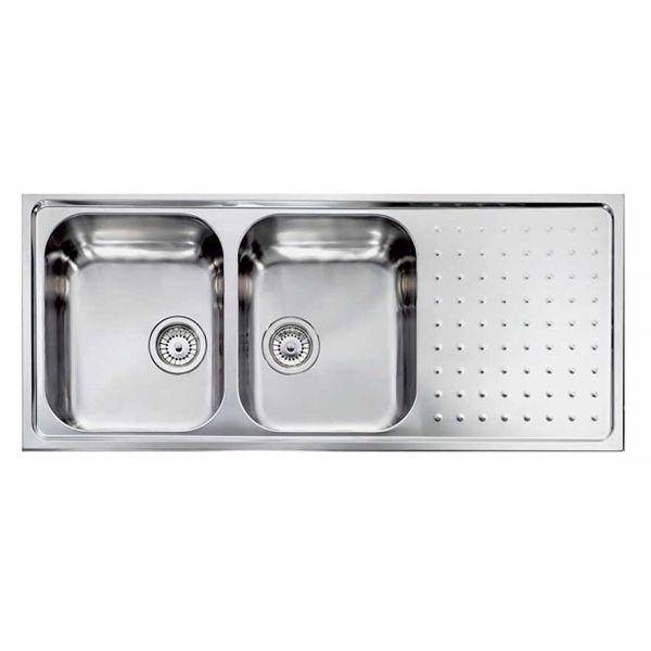 SANITEC PUNTO PLUS 11107 - Ανοξείδωτος νεροχύτης κουζίνας