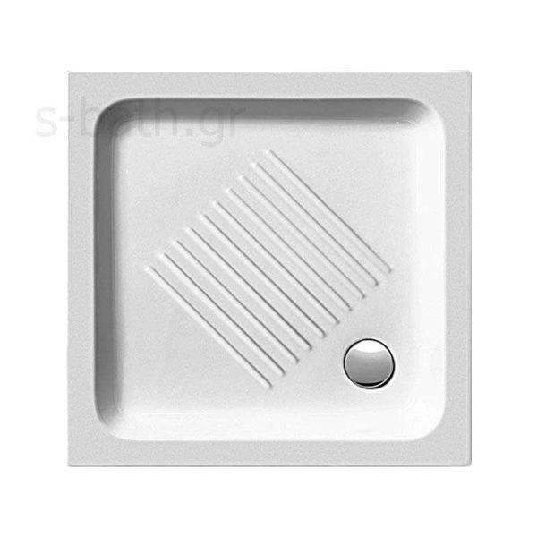 GSI BASIC 4375 - Ντουζιέρα μπάνιου ορθογώνια