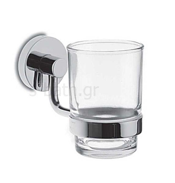 Αξεσουάρ μπάνιου TRINITRON - Ποτηροθήκη τοίχου
