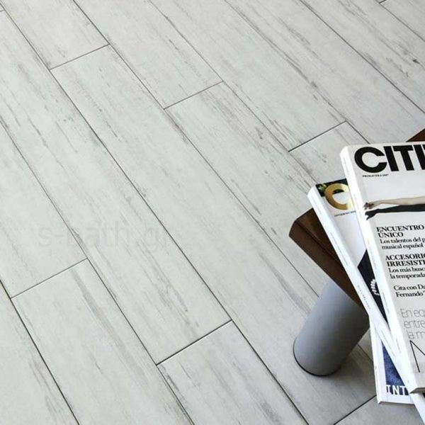 VENUS CERAMICA TAIGA white - Πλακάκι δαπέδου τύπου ξύλο πορσελανάτο
