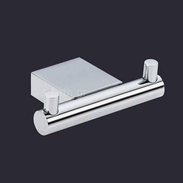 Αξεσουάρ μπάνιου OMEGA - Άγκιστρο διπλό μπάνιου τοίχου