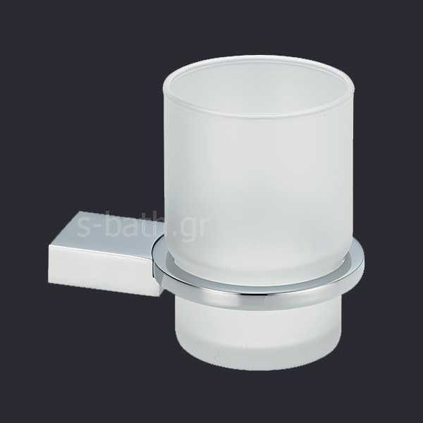 Αξεσουάρ μπάνιου OMEGA - Ποτηροθήκη μπάνιου τοίχου