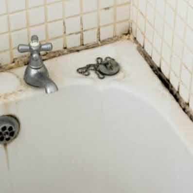 Καθαρισμός μπάνιου - Καταπολέμηση μούχλας