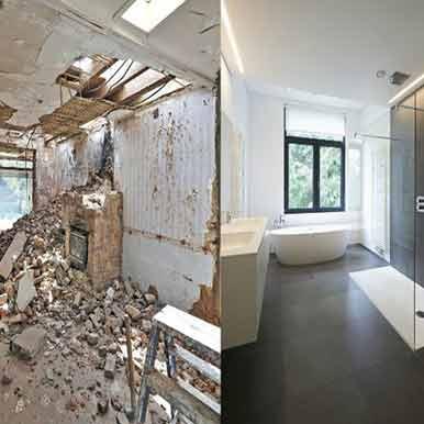 Εργασίες για Ανακαίνιση μπάνιου