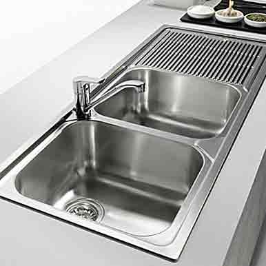 Ανοξείδωτοι νεροχύτες κουζίνας - Καθαρισμός